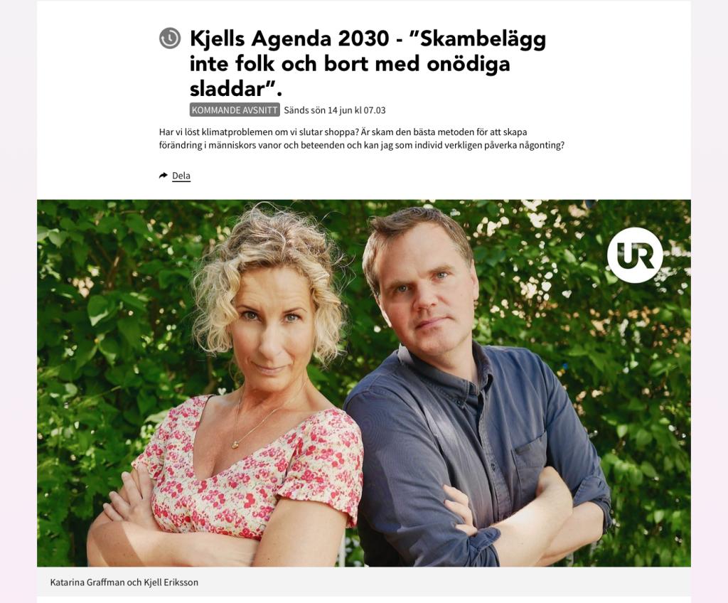 Kjells Agenda 2030